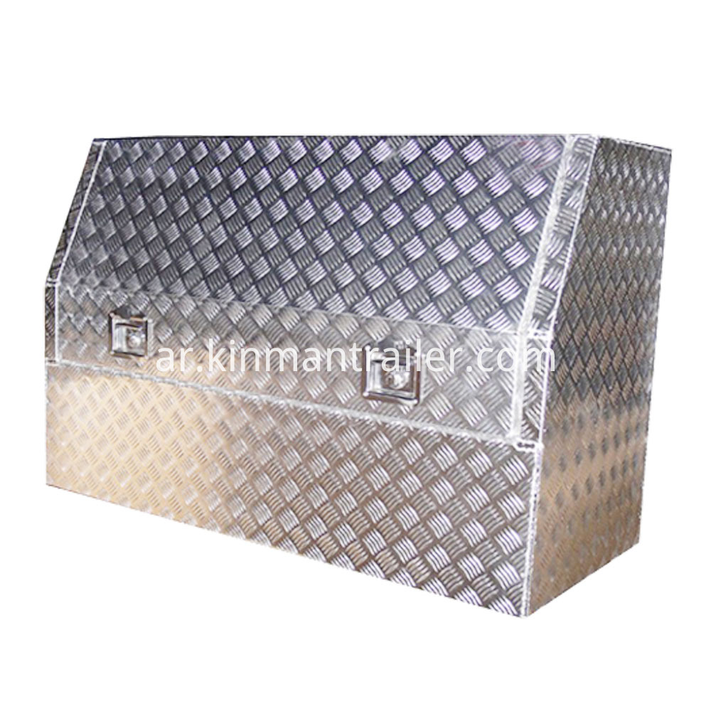 aluminum tool box pickup