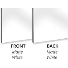 Aluminum Composite Panel 2440*1220mm 3mm MatteWhite PE Core