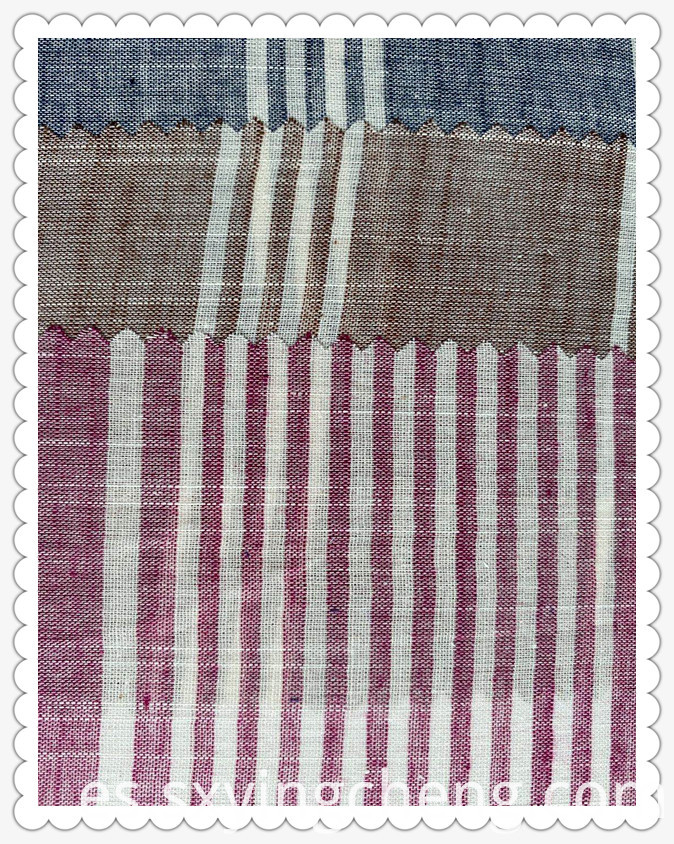 Thin Summer Wide Stripe Fabric