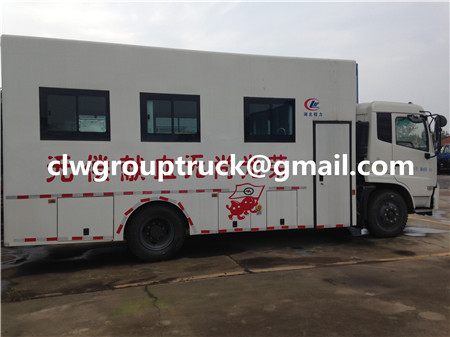 Blood Collector Truck
