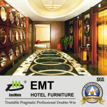 Estrella del hotel Área pública Paneles de pared de madera (EMT-F1210)