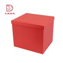 Fabrik direkt schöne benutzerdefinierte Farbe Verpackung Box für Blumen