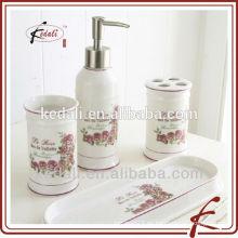Accesorio de cerámica del cuarto de baño de la venta caliente fijado 4