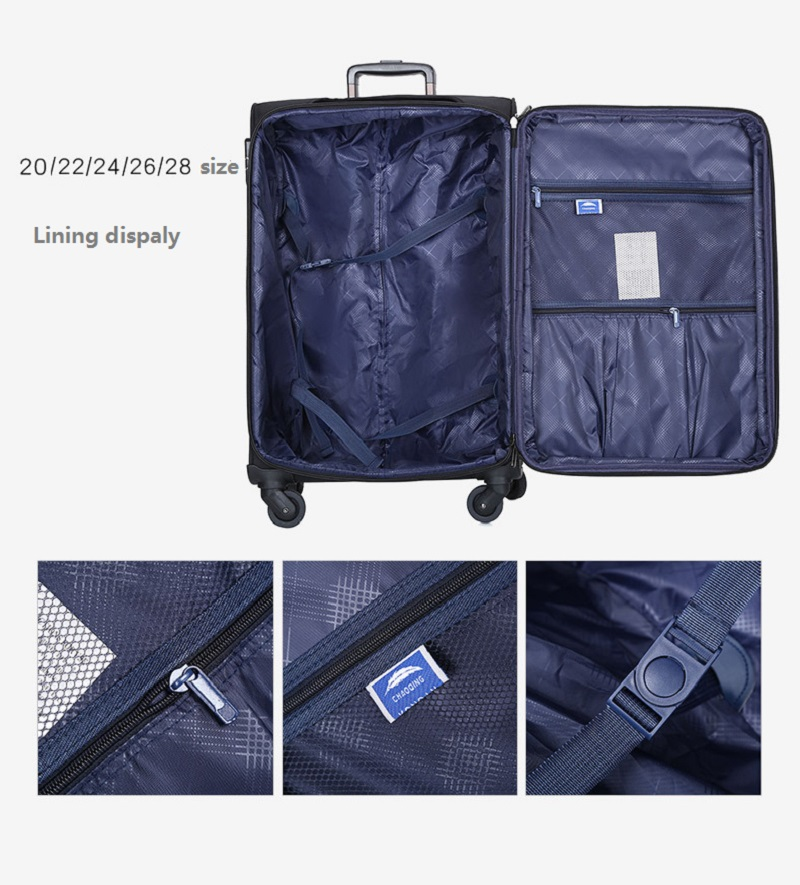 Oxford Luggage Trolley Bag