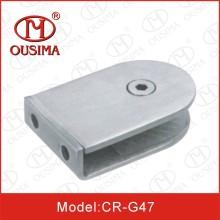 Grampo de vidro de aço inoxidável pequeno usado no vidro de fixação (CR-G47)