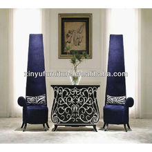 Eventing purple high back chair XY4881