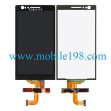 Teléfono móvil Pantalla LCD y digitalizador táctil para Sony Xperia P Lt22I Piezas de repuesto