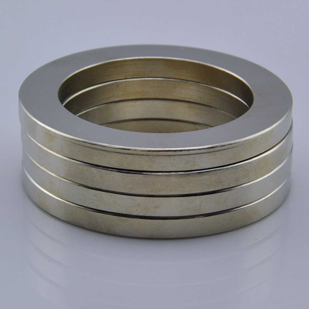 N38 neodymium large ring magnet