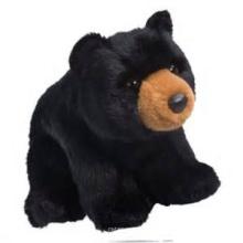 ICTI Audited Factory oso negro de juguete de peluche