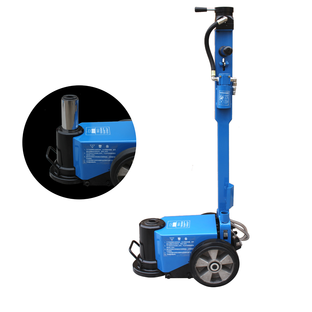 35 Ton air jack blue 2
