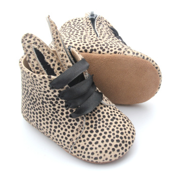 Mo Rambut Leopard Bunny Ears Baby Boots