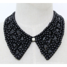 Lady Costume Jewelry Square Crystal Chunky Choker Necklace Collar (JE0137)
