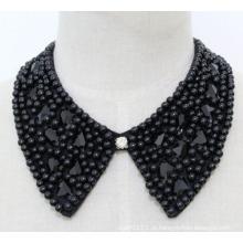 Senhora bijuterias praça cristal chunky colar gargantilha colar (jE0137)