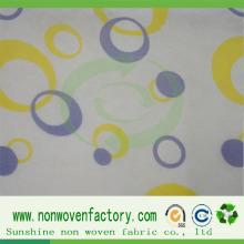 Novo Design Impresso PP Spunbond Tecido Não Tecido