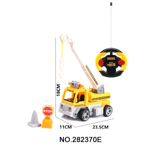 Ensamble R / C Engineering Car Toys para niños