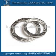 Lavadora de seguridad de acero inoxidable DIN9250