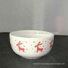 5inch xmas bacia de cerâmica para BSB1121A