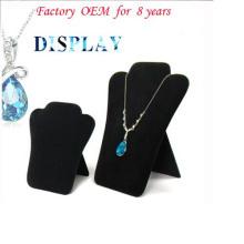 Exhibición colgante del collar de la joyería de la tierra de la cartulina (NS-FK-20)