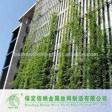 Grüne Wand Edelstahl Netzgewebe