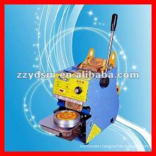 cheap hand/ manual type stainless steel milk tea sealing machine