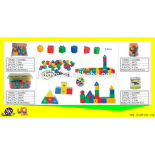 Children school learning Letter threading & lacing toys building block