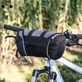 mountain bike and folding bike front handlebar bag on the tube