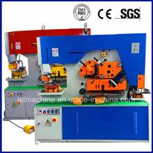 Q35y 30 Máquina de perfuração hidráulica Processamento de chapa de corte Universal Ironworker