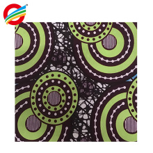 100% polyester african veritable real super wax print fabric