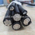 самонесущий кабель NFA2X // сах - надземный кабель во