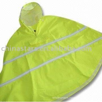 high visibility reflective safety rainwear