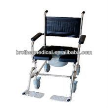 Stainless steel commode chair