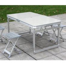 Fabricante moderno ao ar livre de acampamento de alumínio mesa dobrável e cadeiras à venda