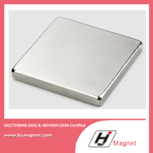 High Power Strong N35-52 Neodymium Block Magnet with ISO9001 Ts16949