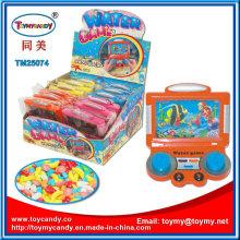 Plastikfernsehshow-Wasser-Spiel-Spielzeug mit Süßigkeit