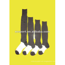 Calcetín suave del fútbol de los hombres de la manera