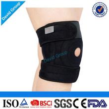 Soporte de rodilla de refuerzo de rodilla de neopreno de suministro de fábrica