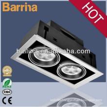 2015 barrina HOT sale price super brightness ce rohs rectangular led grille spot lights