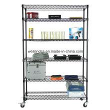 NSF em pó revestido de aço Garagem Storage Wire Racking System