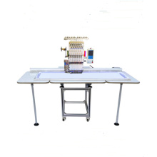 Single head embroidery machine with beads device