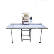 Máquina de bordar plana / cap, QY-D cabeça única grande máquina de bordar computador