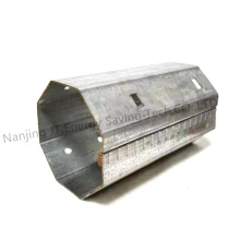 Rolling Shutter/Roller Shutter Accessories, Octagonal Galvanized Steel Axle