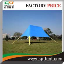 Pop up affichant une tente étoile avec logo imprimé personnalisé imprimé (poids léger et petit volume, peut être expédié par Express ou par air)
