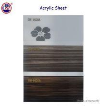 Holzkornfarbe Acrylblätter