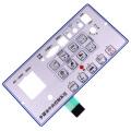 2020 Polyester maßgeschneiderte Ein-Knopf-Membranschalter