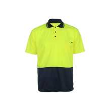 100% Polyester T-shirt de sécurité réfléchissant
