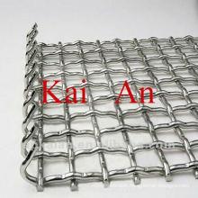 Galvanised stainless steel animal cage mesh