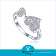 Top Quality Sterling Silver Heart Ring (SH-R0022)