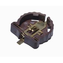 Suporte de bateria de célula tipo botão tipo moeda CR1220