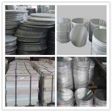 1050/1060/1070/1100/3003/3005 Cercle en tôle d'aluminium pour cuisson Utensile