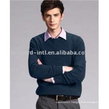 men's cashmere knitwear